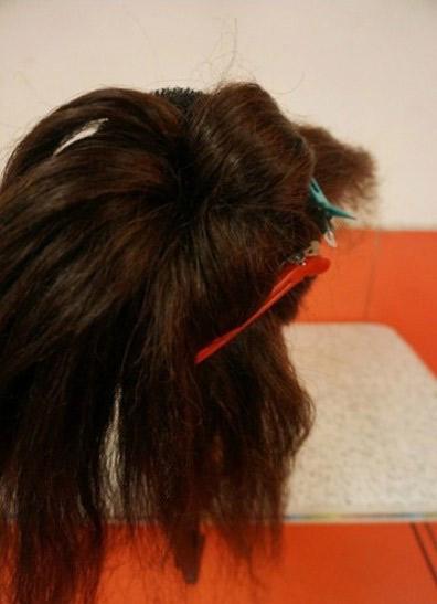 Khéo léo ăn gian chiều cao nhờ tóc búi - 3