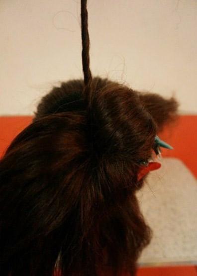 Khéo léo ăn gian chiều cao nhờ tóc búi - 4
