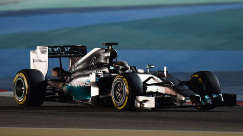 Chạy thử Bahrain GP: Mercedes vượt trội - 1