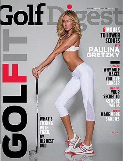 """Người mẫu Paulina Gretzky làm """"nổi sóng"""" làng golf - 1"""