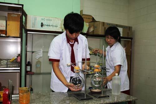 HS lớp 11 chiết xuất chất chống ung thư từ cây nghệ vàng - 1