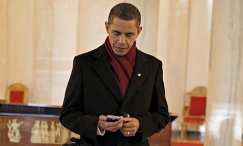 Các nguyên thủ quốc gia dùng điện thoại gì? - 2