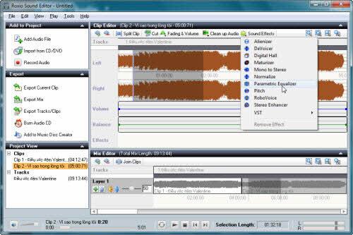 Xử lý âm thanh chuyên nghiệp với Roxio Creator NXT Pro - 5