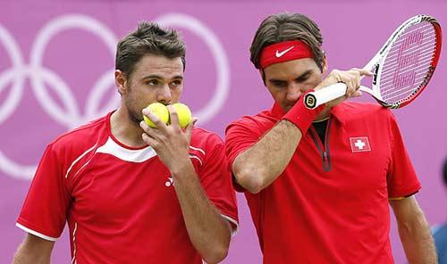 Cặp đôi Federer-Wawrinka bại trận (TK Davis Cup) - 1