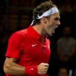 Thể thao - TK Davis Cup ngày 1: Federer cứu Thụy Sĩ