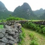 """Du lịch - Độc đáo làng """"đá"""" ở Cao Bằng"""