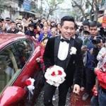 Ca nhạc - MTV - Giao thông ngưng trệ vì đám cưới Tuấn Hưng