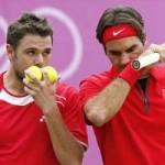 Thể thao - Cặp đôi Federer-Wawrinka bại trận (TK Davis Cup)
