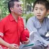 Nhật Cường thuyết phục con trai đóng phim
