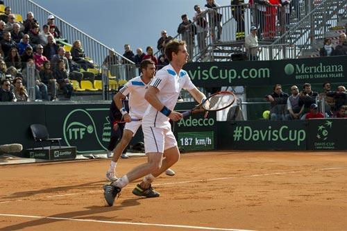 TK Davis Cup ngày 2: Siêu sao Murray - 1