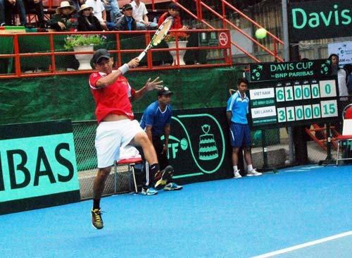 Minh Quân bại trận, Việt Nam rớt hạng Davis Cup - 1