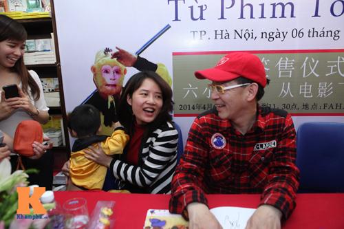 """Fan nhí Việt vất vả gặp """"Tề thiên đại thánh"""" - 5"""