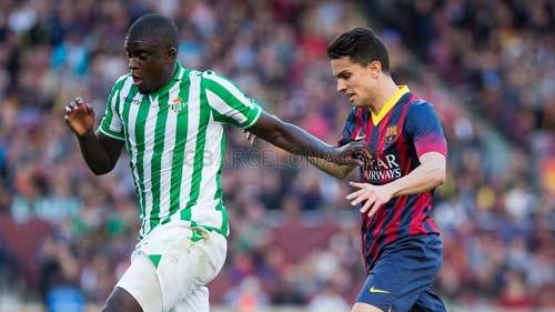 Barca thắng nhọc: Run rẩy đến Calderon - 2