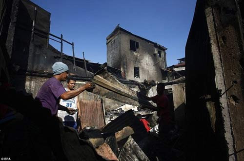Philippines: Hơn 5.000 người mất nhà vì 1 cây nến - 2