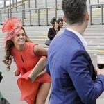 Thời trang - Danielle Lloyd mất điểm vì sự cố váy áo