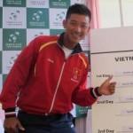 Thể thao - Minh Quân bại trận, Việt Nam rớt hạng Davis Cup