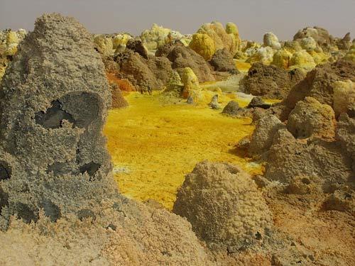 Thế giới đa sắc màu của núi lửa ở Ethiopia - 9