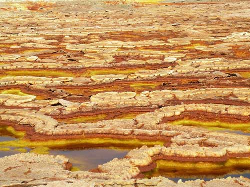Thế giới đa sắc màu của núi lửa ở Ethiopia - 11
