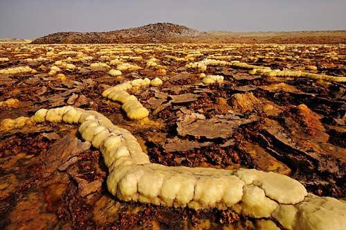 Thế giới đa sắc màu của núi lửa ở Ethiopia - 12