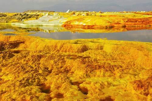 Thế giới đa sắc màu của núi lửa ở Ethiopia - 6