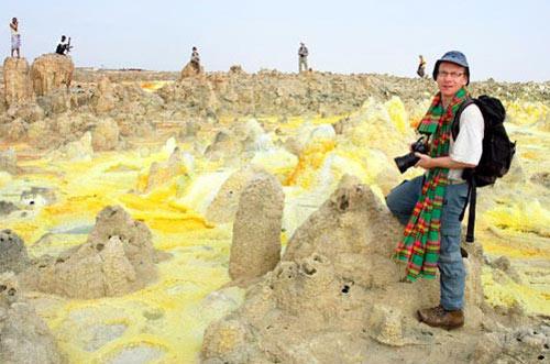 Thế giới đa sắc màu của núi lửa ở Ethiopia - 5