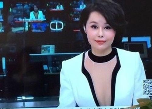 Mặc áo mỏng, MC Trung Quốc bị chỉ trích - 1