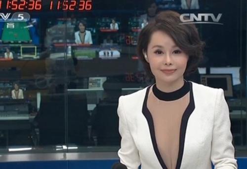 Mặc áo mỏng, MC Trung Quốc bị chỉ trích - 2