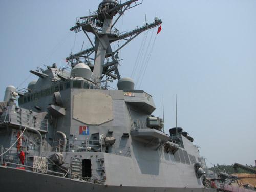 Ngắm tàu khu trục USS McCain tại cảng Đà Nẵng - 7