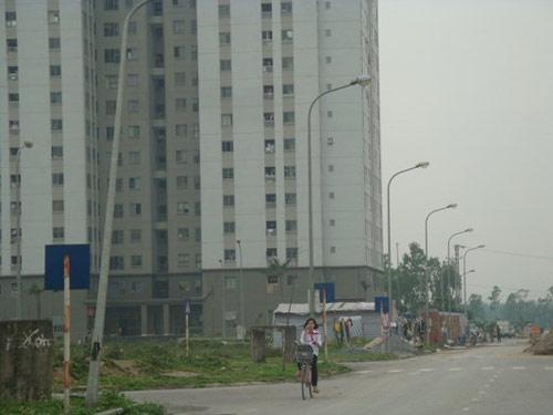 Hà Nội: Nhà ở xã hội hoang vu như ốc đảo - 3