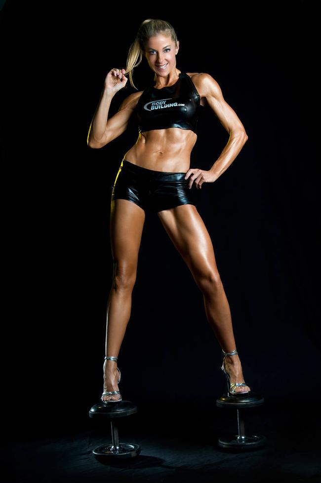 Người đẹp cơ bắp Belinda Benn