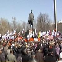 Bùng phát biểu tình tại miền đông Ucraina