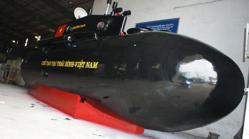 Tàu ngầm Trường Sa sẵn sàng thử nghiệm trên biển - 1