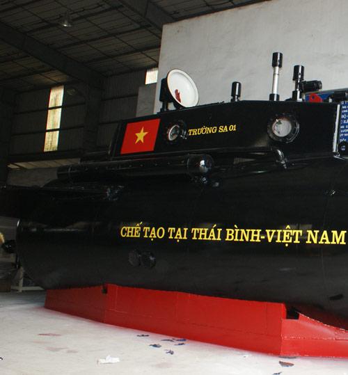 Tàu ngầm Trường Sa sẵn sàng thử nghiệm trên biển - 2