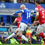 """Bóng đá - Everton """"tra tấn"""" hàng thủ Arsenal"""