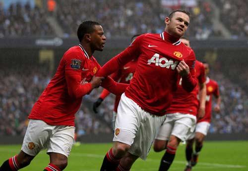 Rooney, Evra sẽ đá trận gặp Bayern - 1