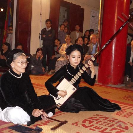 Nghệ nhân Nguyễn Thị Chúc đã dứt tiếng ca trù - 1