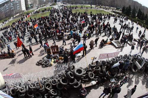 Ukraine điều lính đánh thuê Mỹ đàn áp biểu tình? - 1