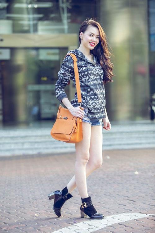 Học sao Việt mặc đẹp ngày nắng tháng 4 - 11
