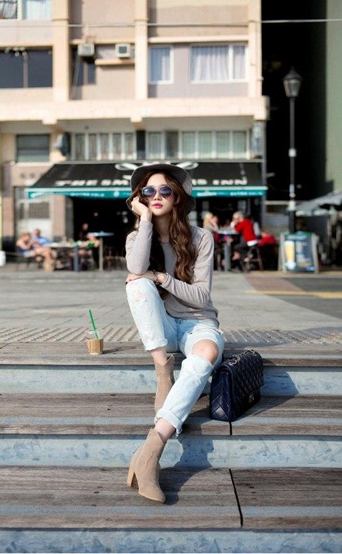 Cô gái mùa hè cần một chiếc jeans rách! - 7