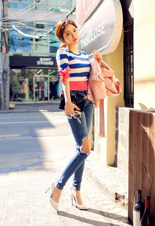Cô gái mùa hè cần một chiếc jeans rách! - 3