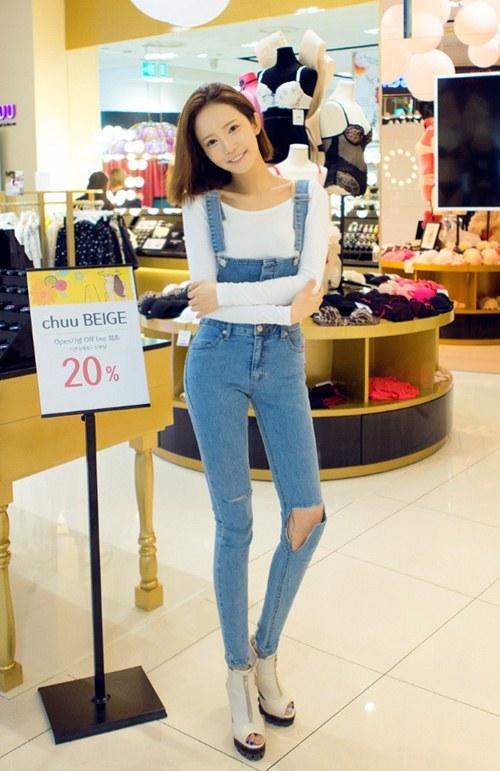 Cô gái mùa hè cần một chiếc jeans rách! - 5