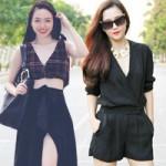 Thời trang - Học sao Việt mặc đẹp ngày nắng tháng 4