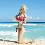 Bạn trẻ - Cuộc sống - Búp bê Barbie phiên bản đời thực gây sốc