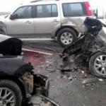 Tin tức trong ngày - Tai nạn trên cầu Thăng Long, 5 người nhập viện