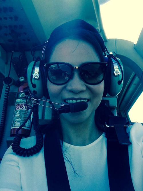 Vợ chồng Thu Minh đi trực thăng du ngoạn Nam Phi - 11