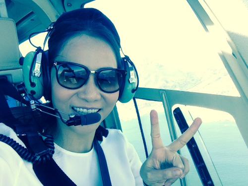Vợ chồng Thu Minh đi trực thăng du ngoạn Nam Phi - 2