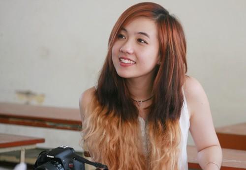 Những hot girl Việt xinh đẹp và học giỏi - 4