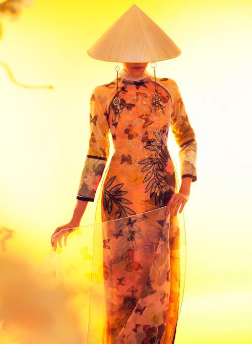 Lặng ngắm những mẫu áo dài đẹp mùa lễ hội - 4