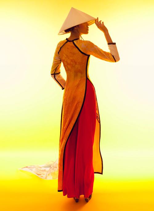 Lặng ngắm những mẫu áo dài đẹp mùa lễ hội - 6