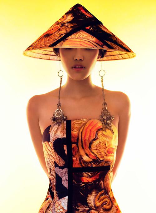 Lặng ngắm những mẫu áo dài đẹp mùa lễ hội - 8